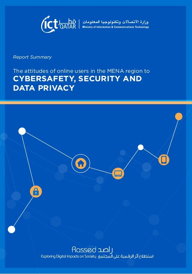 CYBERSAFETY, SECURITY AND DATA PRIVACY The attitudes of online users in the MENA region to Report Summary