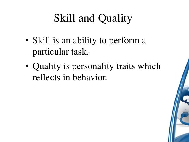 ict skills and qualities