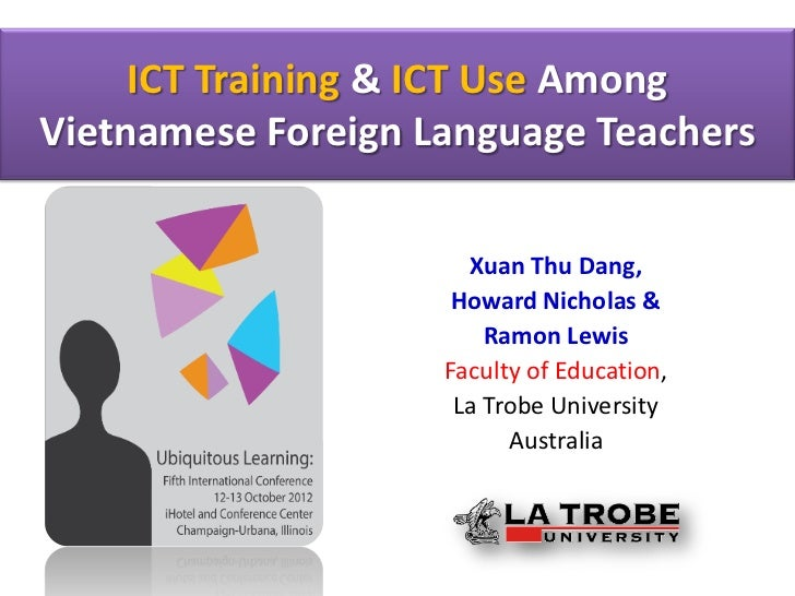 ict in language teaching The use of ict provides the variety of teaching  the utilization of ict in language learning improves efficiency and effectiveness of learning that can.