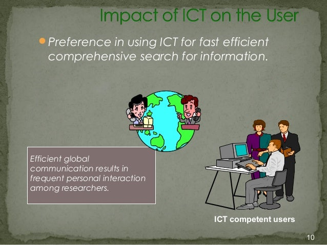 uses of ict Ict covers a wide spectrum of specific tools available for a business to use these tools include internet networks, e-mail systems, videoconferencing and smart technology, such as phones and tablets.