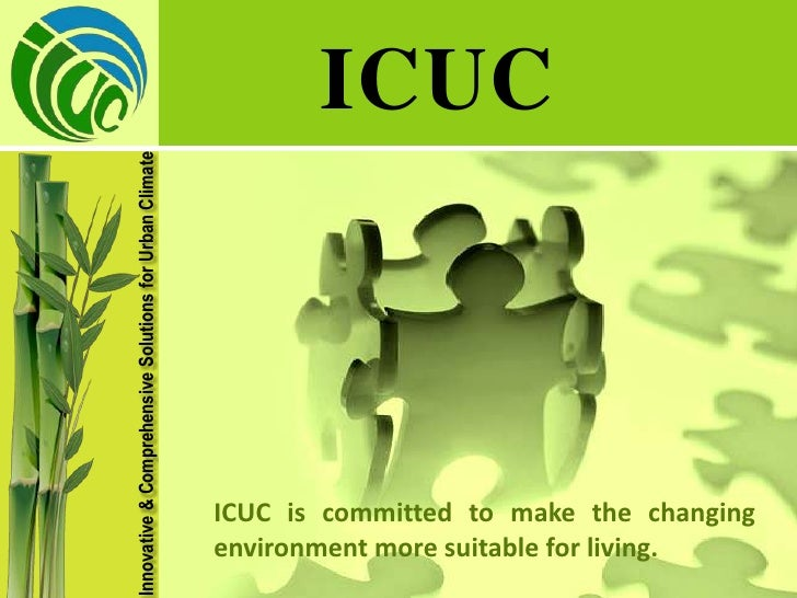 Innovative & Comprehensive Solutions for Urban Climate                                                                ICUC...