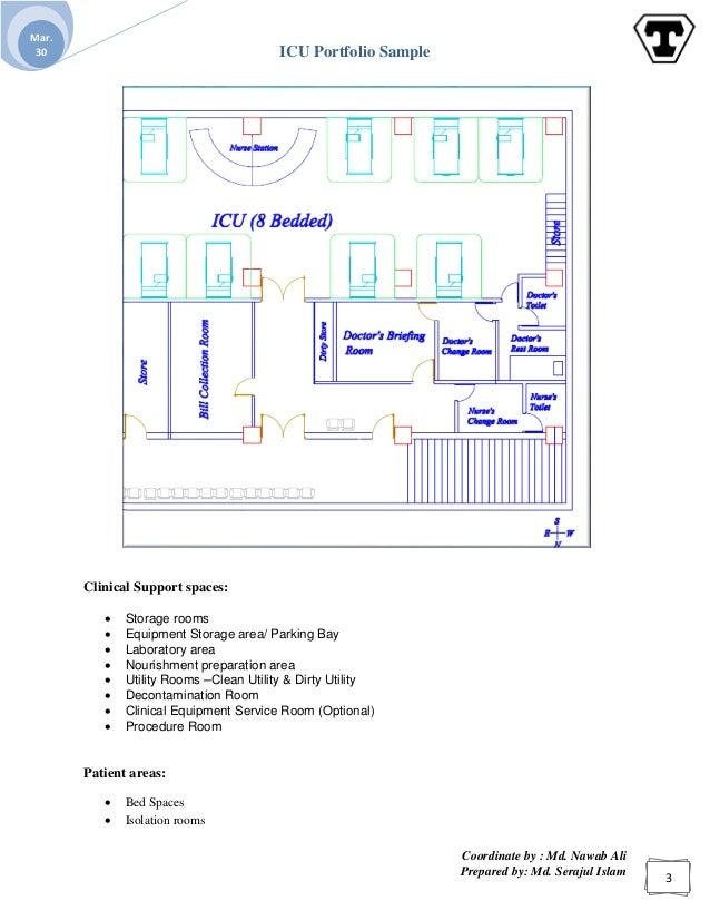 Endoscopy Lab Design: ICU Portfolio Sample