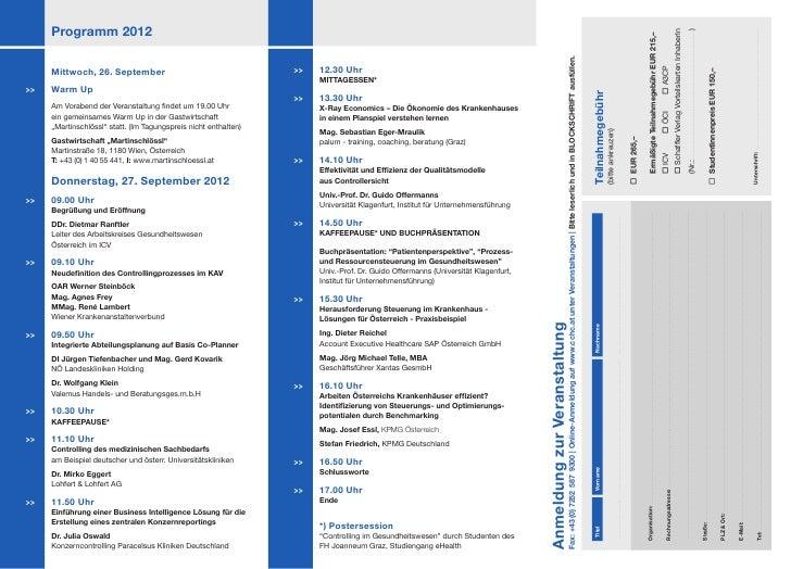Forum Programm