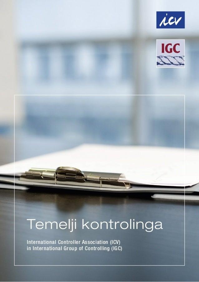Temelji kontrolinga International Controller Association (ICV) in International Group of Controlling (IGC)