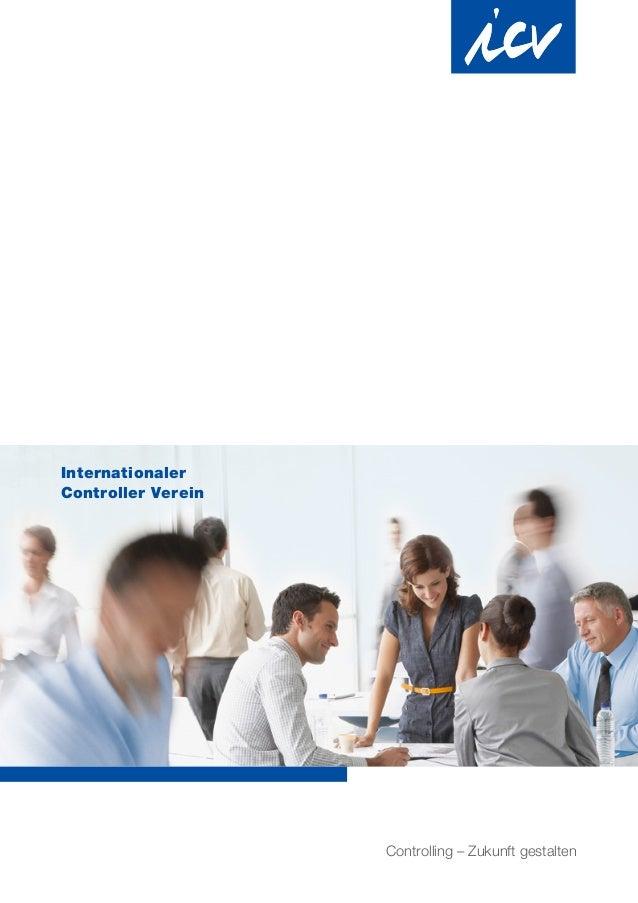 Internationaler Controller Verein Controlling – Zukunft gestalten