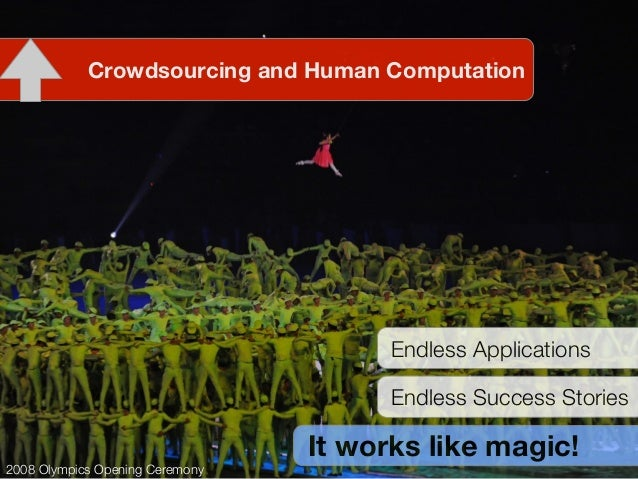 Pattern-Based Specification of Crowdsourcing Applications Slide 2