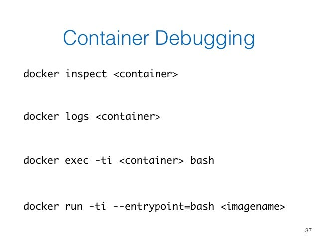 Using Docker Containers to Improve Reproducibility in