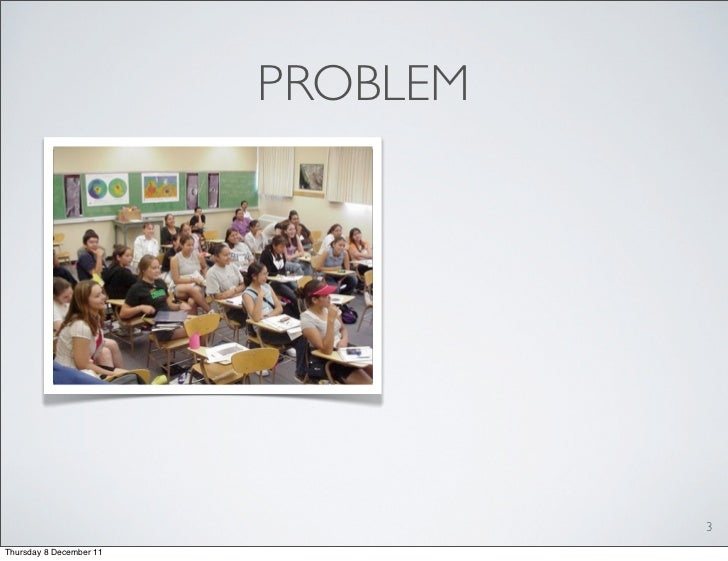 Evaluating the Student Activity Meter: Two Case Studies. Slide 3