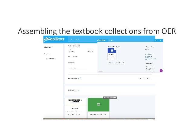 AssemblingthetextbookcollectionsfromOER