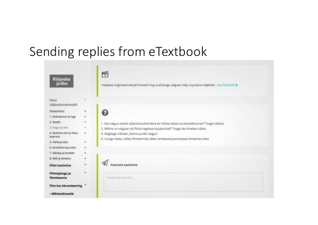 SendingrepliesfromeTextbook