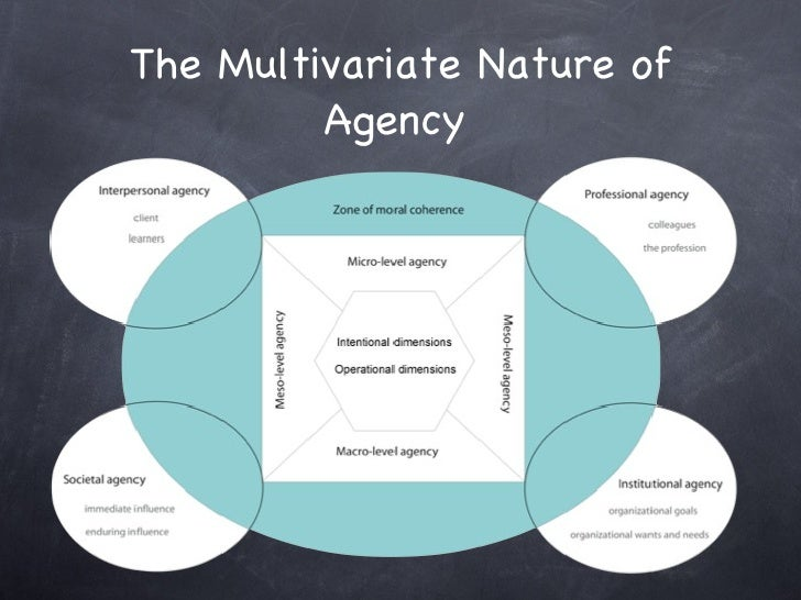 The Multivariate Nature of Agency