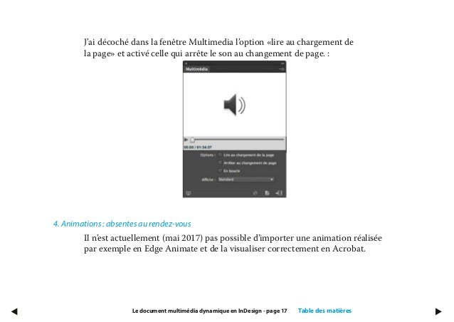 Indesign Livre Blanc Le Document Multimedia Dynamique