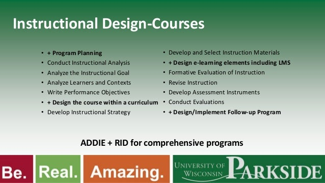 rapid instructional design piskurich