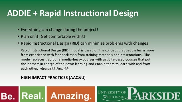 what are instructional models