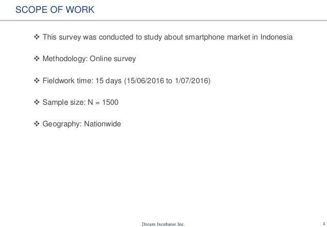 Smartphone Usage In Indonesia Slide 2