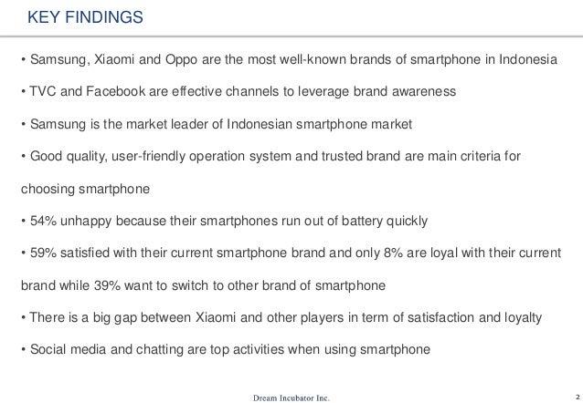 Smartphone Usage In Indonesia Slide 3