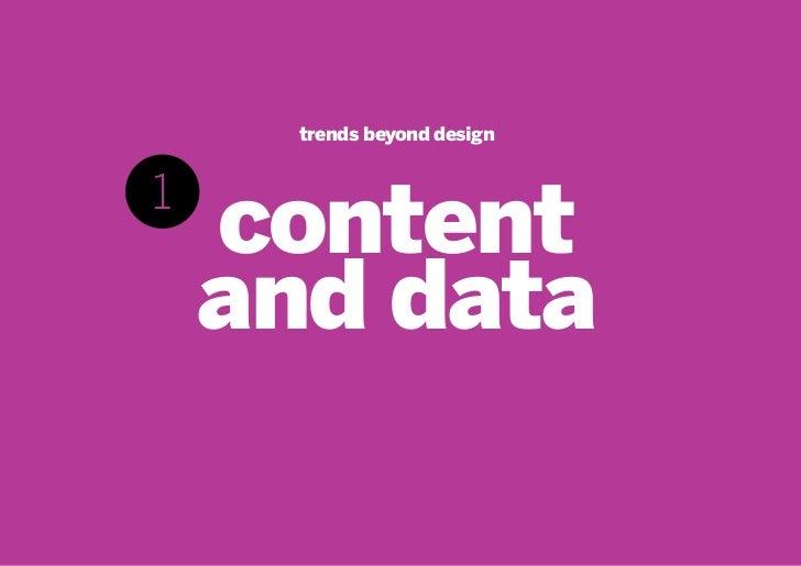 The 2011 trends in interactive design Slide 3