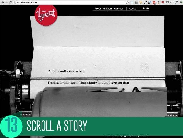 SCROLL A STORY