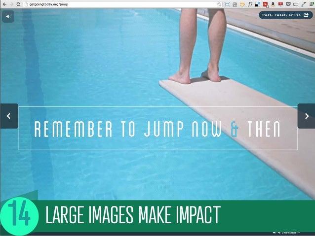 LARGE IMAGES MAKE IMPACT