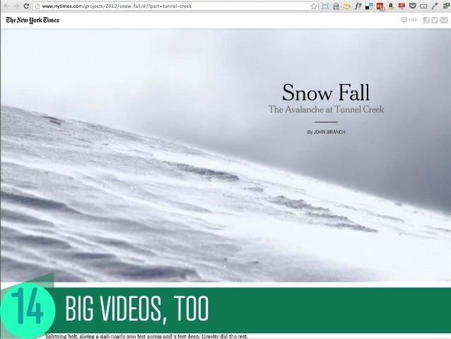 BIG VIDEOS, TOO