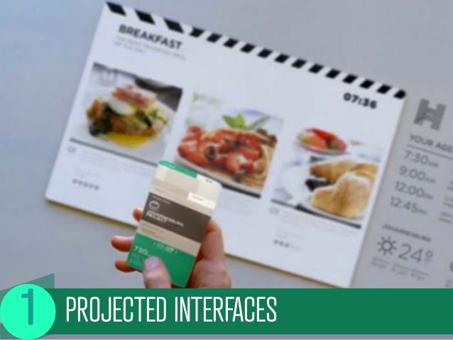 PROJECTED INTERFACES