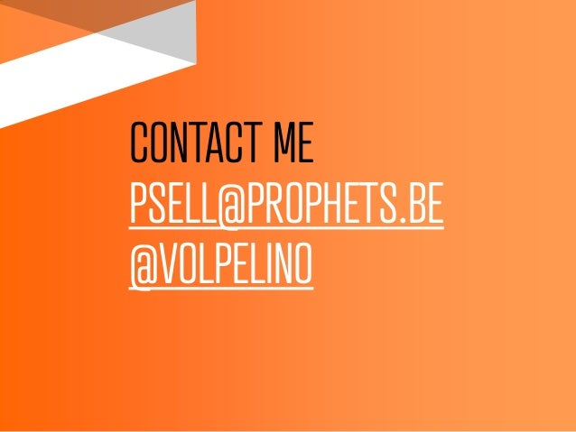 CONTACT MEPSELL@PROPHETS.BE@VOLPELINO