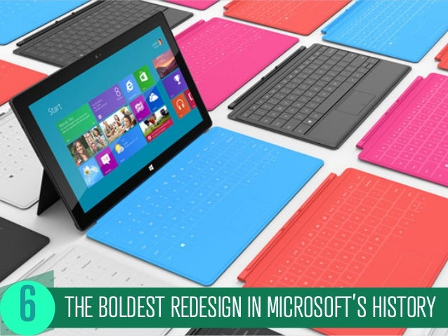THE BOLDEST REDESIGN IN MICROSOFT'S HISTORY