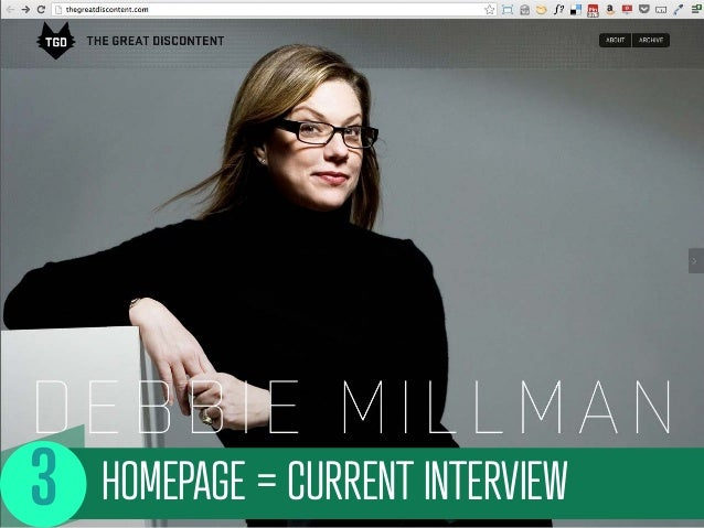 HOMEPAGE = CURRENT INTERVIEW