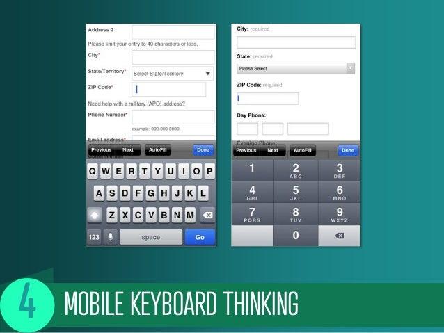 MOBILE KEYBOARD THINKING