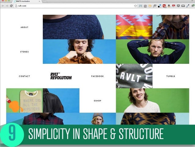 SIMPLICITY IN SHAPE & STRUCTURE