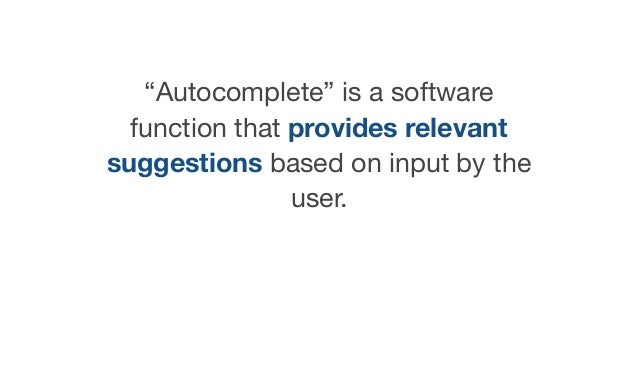 Building an accessible auto-complete - #ID24 Slide 3