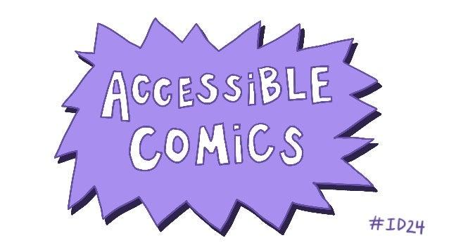 Accessible comics!