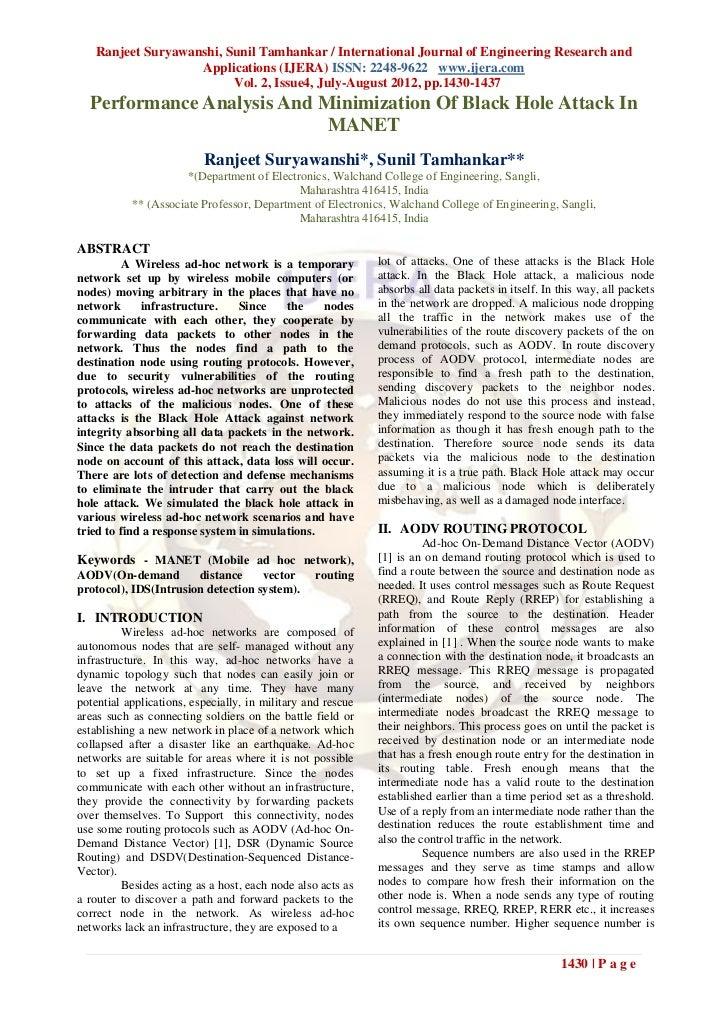 Ranjeet Suryawanshi, Sunil Tamhankar / International Journal of Engineering Research and                   Applications (I...