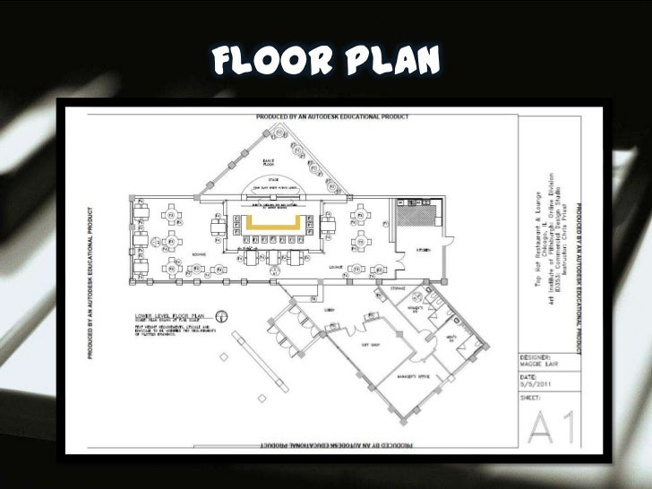 Restaurant design presentation Restaurant floor plan maker