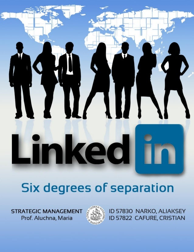 31th MAY 20132 LINKEDIN | SIX DEGREES OF SEPARATIONIndexIndex ...............................................................