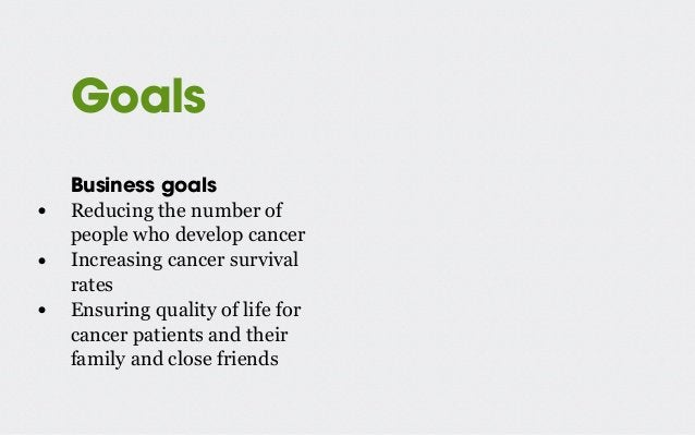 User research at the NCS • Focus groups with patients and next of kin • Surveys of The Cancer Society's reputation • Web A...