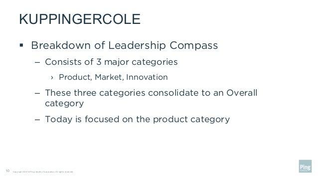 Webinar: Deep Diving Into the KuppingerCole IDaaS Leadership
