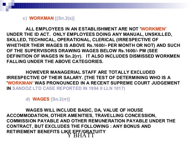 industrial dispute act 1 uttar pradesh industrial disputes act sec 2 (z) of the up industrial disputes act apprentice - excludes - burden is on the person cla iming to be workman to so prove.