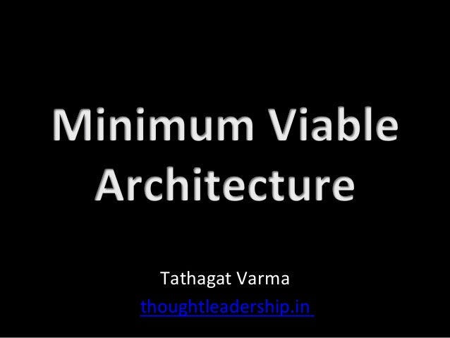 Tathagat	Varma	 thoughtleadership.in