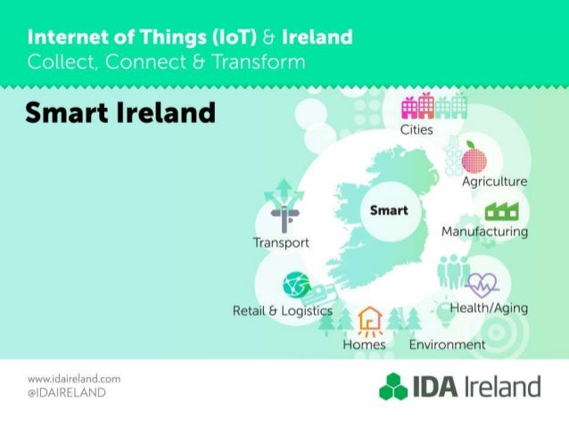 Internet of Things (IoT) 8 Ireland  Collect,  Connect 8 Transform     Smart Ireland  I y  1  culture -I .3 I Smart 5 m Tra...