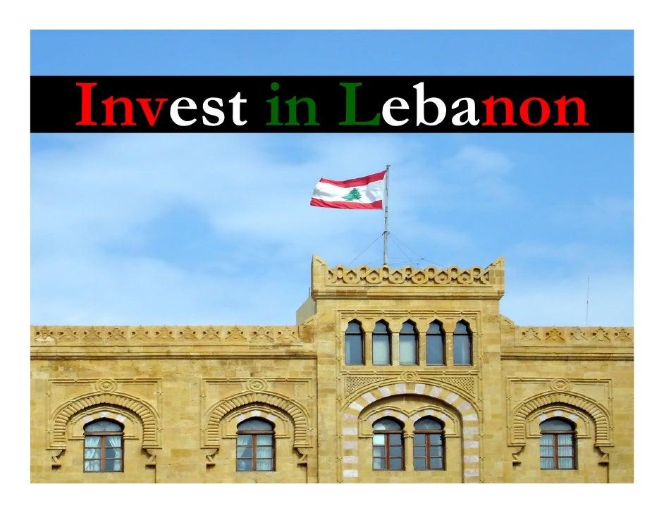 Invest in Lebanon