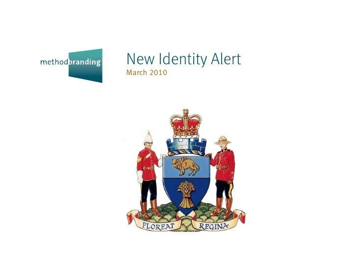 New Identity Alert March 2010