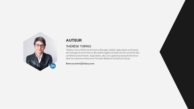 THÉRÈSE TORRIS Thérèse Torris (PhD) est directrice d'étude à IDAOS. Spécialisée en finance, technologie et eCommerce, elle...