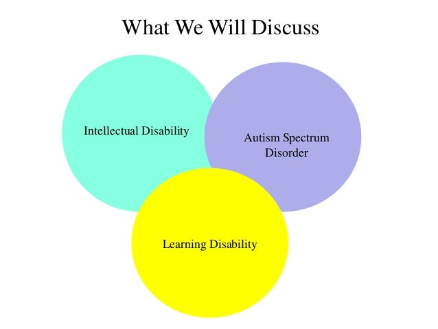 Autism With Intellectual Disability >> Differentiating Intellectual Disability Autism Spectrum Disorder