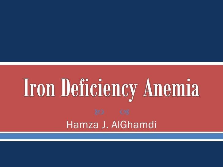 Hamza J. AlGhamdi