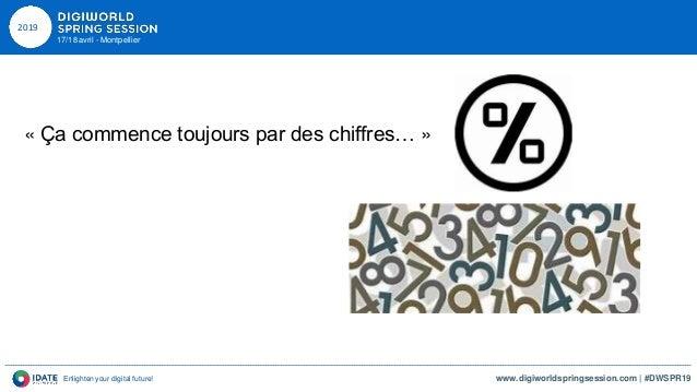DWSPR19 18042019 Philippe BAUDOUIN et Anne CAUSSE - Cohésion territoriale et digital - IDATE DigiWorld Slide 2