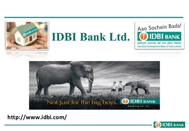 IDBI Bank Ltd.  http://www.idbi.com/
