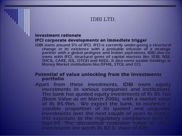 Idbi ltd Slide 3