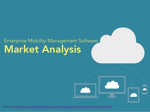 Enterprise Mobility Management Software  Market Analysis  Source: IDC MarketScape: Worldwide Enterprise Mobility Managemen...
