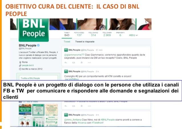 OBIETTIVO  RAGGIUNGERE  I  CLIENTI  SU  FACEBOOK:    IL   CASO  BRADESCO   Connettersi con un maggior ...